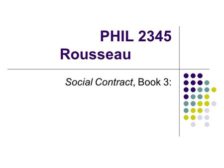 a comparison of rousseaussocial contract and mills on liberty Chapter iv examines whether there are instances when society can legitimately  limit individual liberty mill rejects the concept of the social contract, in which.