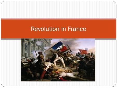 Revolution in France. The Declaration of the Rights of Man When the threat of the king's Swiss troops was countered the National Assembly had more freedom.