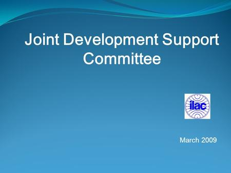 Joint Development Support Committee March 2009. JDSC Report IAF/ILAC 2. STOCKHOLM SEMINAR Swedac, organize a very interesting Seminar on Organic Food.
