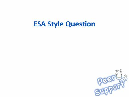 ESA Style Question. Mr Smith, a 23 year old male presents to his GP with a persistent cough for 2 weeks. He is normally healthy and works as a builder.