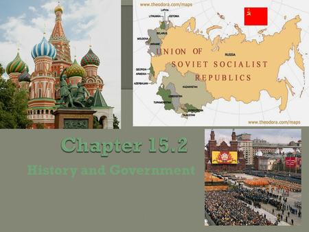 History and Government. By the late 1800's and early 1900's, many Russians wanted to establish a socialist government that would create economic equality.