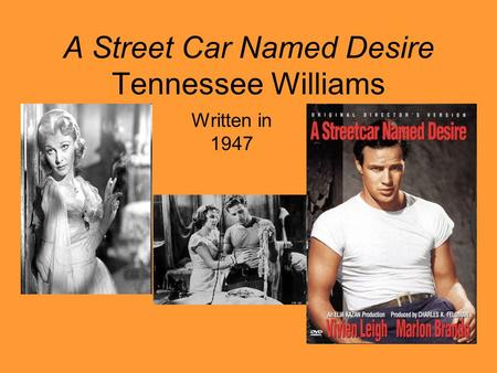 an analysis of brutality in a streetcar named desire by tennessee williams And brutality  all of them dichotomies used by tennessee williams in a streetcar named desire tennessee williams  a streetcar named desire analysis essay.