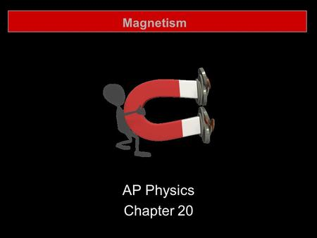 Magnetism AP Physics Chapter 20. Magnetism 20.1 Mangets and Magnetic Fields.