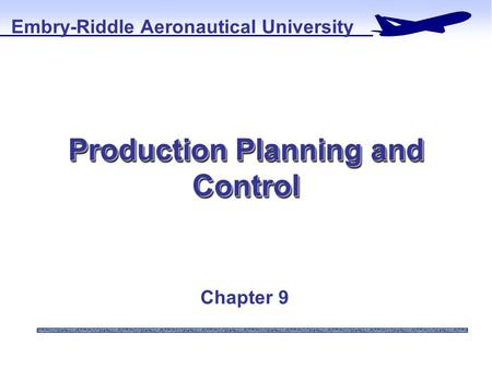 Routing in production planning and control ppt