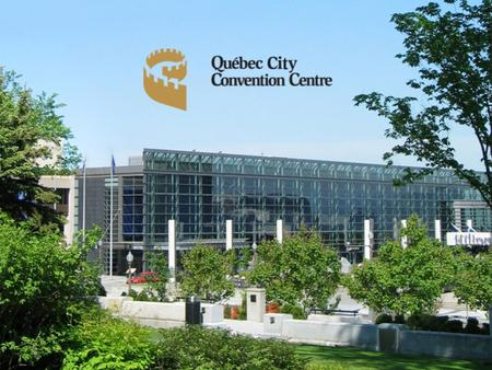 Committed since day one 1996The Québec City Convention Centre opens its doors 1998Agreements are made with food banks for the redistribution of food.