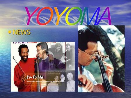 NEWS NEWS. Yo-Yo Ma the sexist man of 2001 Yo-Yo Ma the sexist man of 2001 People selected Yo-yo Ma as one of the sexist men of 2001. Ma was chosen as.