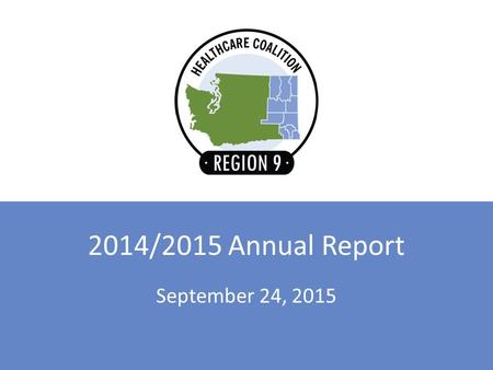 September 24, 2015 2014/2015 Annual Report. Overview 2014 – 2015 Retrospective 2015 – 2016 Projects and Committees.