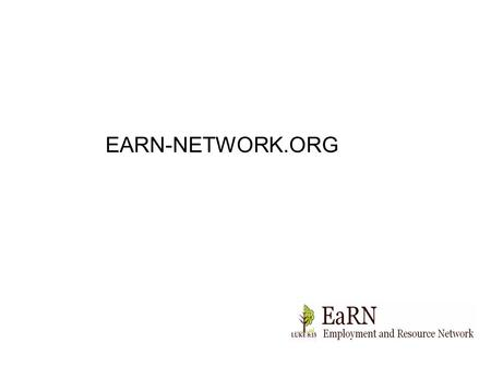 EARN-NETWORK.ORG. Login Search Articles Join EaRN Donate.