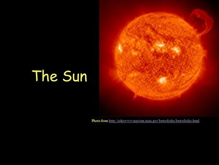 The Sun Photo from