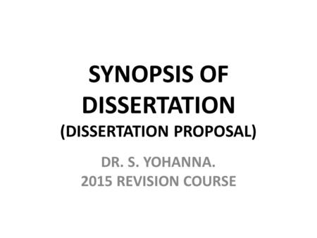 Dissertation synopsis introduction Phd thesis outlines ShareLaTeX Synopsis format Synopsis ofStandard Format  for Preparing the Synopsis A Thesis