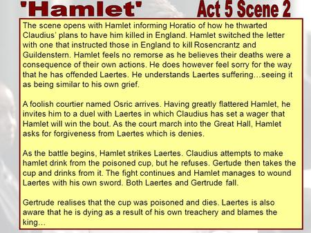 essays about claudius of hamlet Hamlet - claudius essays: over 180,000 hamlet - claudius essays, hamlet - claudius term papers, hamlet - claudius research paper, book reports 184 990 essays, term and research papers available for unlimited access.