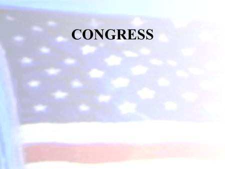 CONGRESS. Roots of the Legislative Branch The U.S. Congress was greatly influenced by the American colonial experience and by the Articles of Confederation.