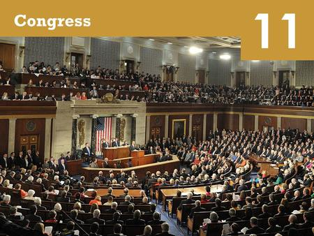 11 Congress. Representatives and Senators 11.1 The Members  Not a glamorous job, but there are perks Power $174,000 annual salary Generous retirement.
