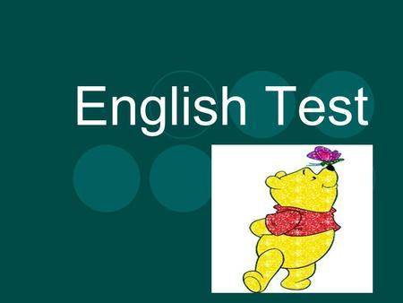English Test. Complete the text with Present Simple or Present Continuous: Hello! My name is Clara. I am _______(go) to school right now. I always _______(go)
