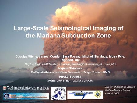 Large-Scale Seismological Imaging of the Mariana Subduction Zone