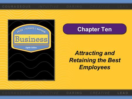 attracting and retaining the best employees Chapter 9 | slide 2 attracting and retaining the best employees  describe the  processes of recruiting, employee selection, and orientation discuss the.