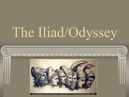 a comparison of the odyssey and the iliad Mythological fiction the iliad vs the odyssey comments i read a version of the illiad a bit ago and now have a half-finished copy of the odyssey.