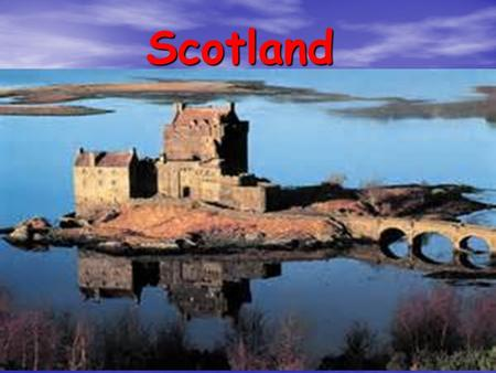 Scotland. Scotland itself Scotland gets it's name from the Scots, the people who first arrived in the late 3rd to mid 4th centuries AD. It was not until.