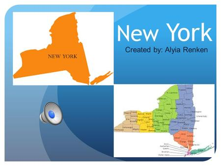 New York Created by: Alyia Renken Geographer Capital: Albany Region: Northeast Major Cities: New York City, Buffalo and Rochester Area Of State: 54,556.