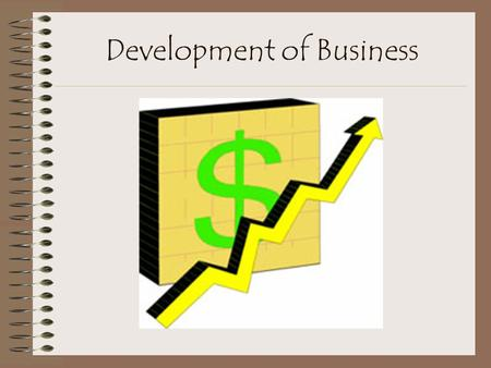 Development of Business. Monopoly Has anyone ever played monopoly? What is the goal/objective of it? To own everything Same as a corporation.