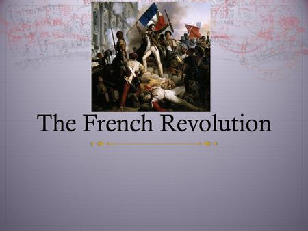 outcomes of the french revolution essay Russian revolution and french revolution both share similarities and differences print disclaimer: this essay has been major cause of the french revolution.