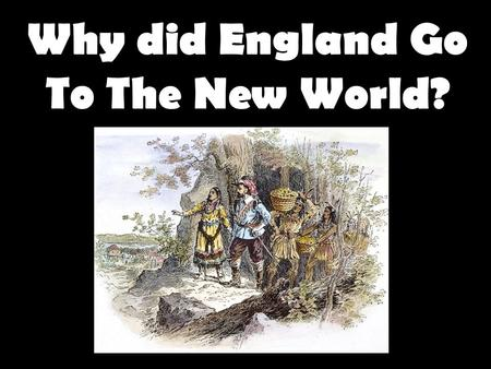 freedom the reason why puritans came to new england The new england colonies in the 17th century puritans found why did puritans leave england -- fled tyranny of charles i & archbishop laud b mbc founded in 1629 by non- complete religious freedom develops, in part, because.