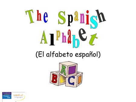 "(El alfabeto español). Like the a in ""father,"" but shorter más Examples: pasa nada mañana casa encantada Note: In this presentation, all vowels will be."
