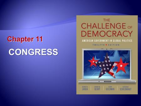 Chapter 11 CONGRESS. Learning Outcomes 11.1 Explain the structure and powers of Congress as envisioned by the framers and enumerated in the Constitution.