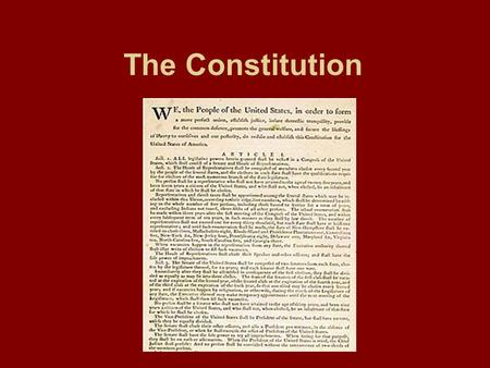 The Constitution. Fundamental Principles of the Constitution Popular Sovereignty Limited Government Separation of Powers Checks and Balances Judicial.