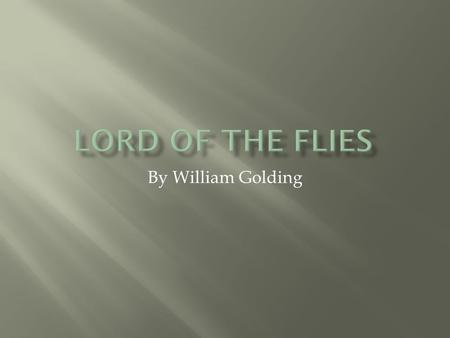 a comparison of characters in lord of the flies by william golding Lord of the flies comparison essay william golding's lord of the flies is a novel about a group of boys who are lost on a deserted island and must do what.