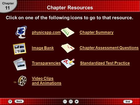 Click on one of the following icons to go to that resource.