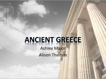 Ashley Major Alison Thomas Geography Mediterranean Sea Aegean Sea Ionian Sea Athens Sparta Neighbors of Greece Turkey Macedonia Italy Albania Bulgaria.