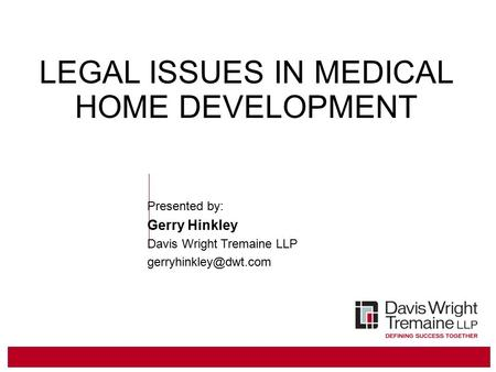 Legal Issues in Housing