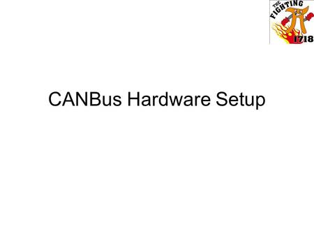 CANBus Hardware Setup. CANBus CANBus is a control system method that can be used instead of the conventional PWM system. It uses RJ12 cable, which is.