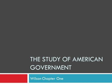 the study of american government While we strive to provide the most comprehensive notes for as many high school textbooks as possible, there are certainly going to be some that we miss.