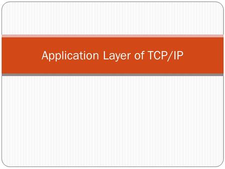 introduction to application layer pdf