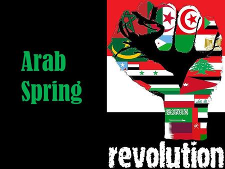 Arab Spring. The Arab Spring (or the Arab Revolutions) refers to the recent revolutionary wave of demonstrations and protests occurring in the Arab world.