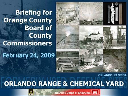 Briefing for Orange County Board of County Commissioners