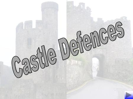 Castles were built to make sure that they could not be seized in a battle. The picture opposite shows how a castle could be defended..