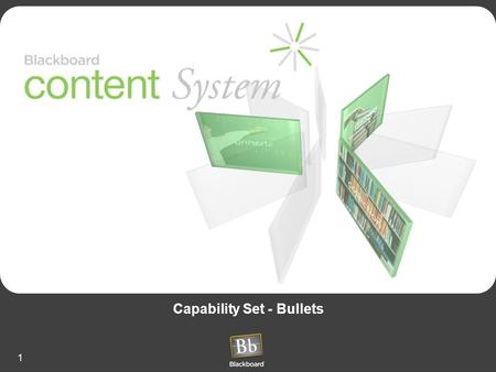 1 Capability Set - Bullets. 2 Common Content Problems Content Mayhem –File management and storage confusion Content Multiplication –Editing déjà vu -