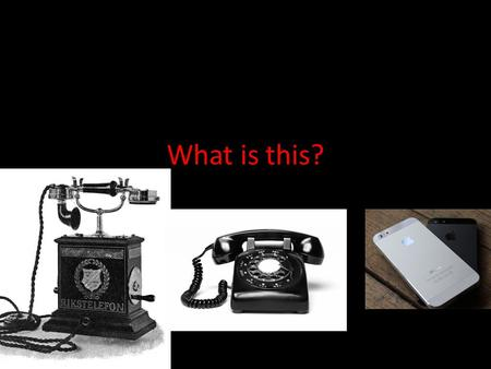 What is this?. But who is the mastermind? Alexander Graham Bell -Father of telephone. -Born March 3, 1847, in Edinburgh, Scotland. -Born in a family.