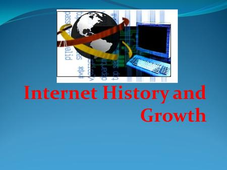 Internet History and Growth. Agenda Internet History Internet Evolution Internet Pioneers Internet Growth – Sept. 1969 – Sept. 2002 Conclusion.