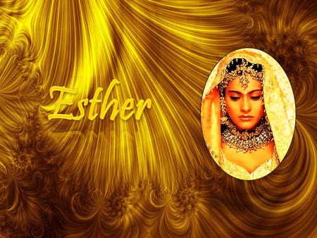 1. 2 The Book of Esther Author –Unknown Purpose –History behind the the Jewish feast of Purim –So they will remember and celebrate the holiday 2.