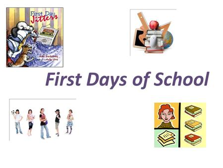 First Days of School. The beginning teacher is expected to assume the same tasks and responsibilities as the most seasoned, veteran teacher on the school.