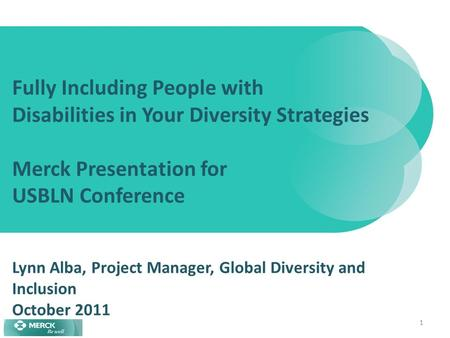 Rolling out the global diversity strategy