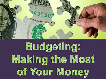 Only 40 percent of Americans use a budget to plan their spending… The rest routinely spend more than they can afford.