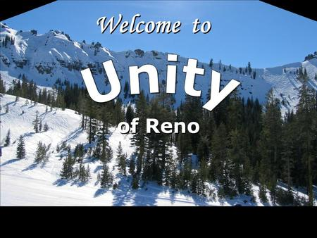 Welcome to of Reno. Since we cannot change reality, let us change the eyes which see reality.