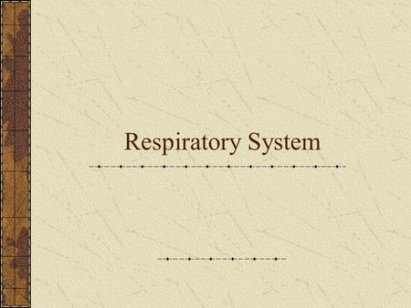 Respiratory System Agriculture, Food, and, Natural Resource Standards Addressed AS.01.01. Evaluate the development and implications of animal origin,
