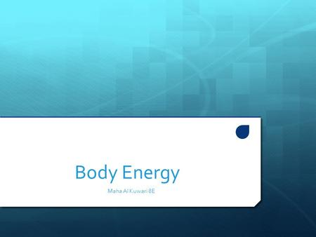 Body Energy Maha Al Kuwari 8E. What is the process of exchange of gases in Humans?  Breathing is the process in which the gases are exchanged between.