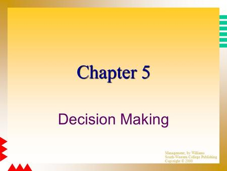 chapter 5 analyzing managerial decisions Read this essay on chapter 2 case assignment, analyzing managerial decisions: interwest healthcare corp come browse our large digital warehouse of free sample essays.